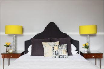 Hotel curtains from Ada & Ina for King Street Hotel