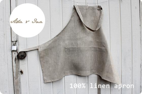 linen apron wholesale