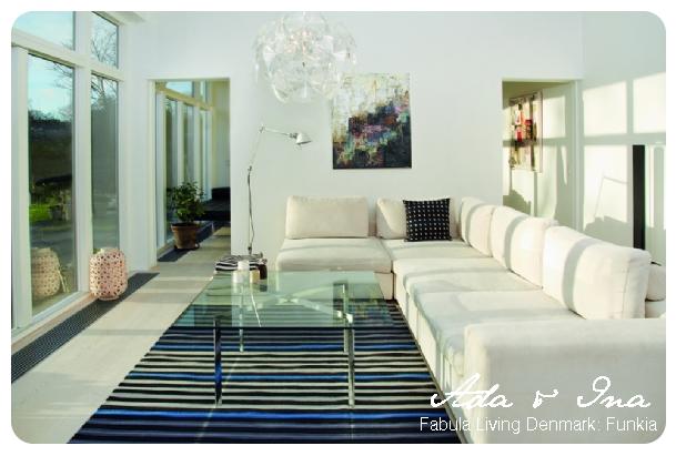 Wie für Ihre Teppiche Sorgen - Ada & Ina Fabula Living Denmark Design: Funkia