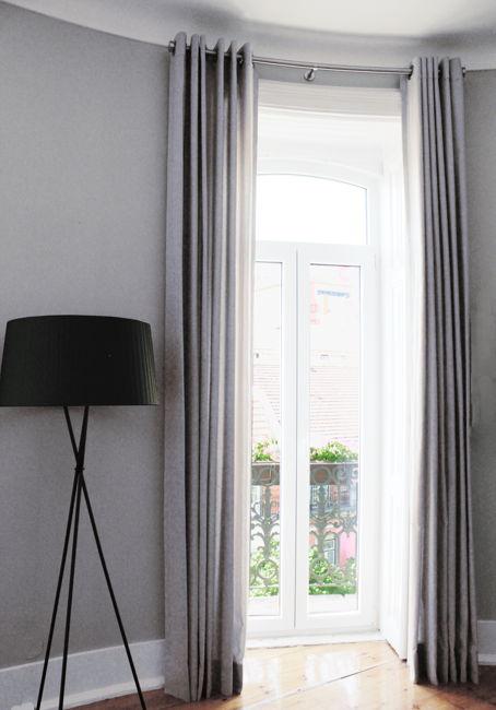 leinen gardinen leinen vorh nge ma geschneiderte gardinen ada ina. Black Bedroom Furniture Sets. Home Design Ideas