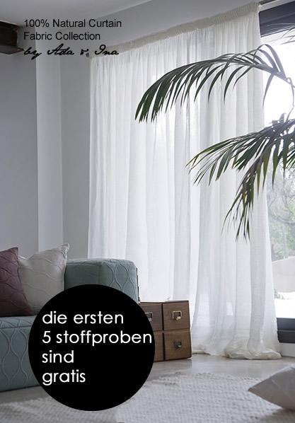 Leinengardinen Voile - Kaufen Sie Voiles und Voile Gardinen online - Ada & Ina